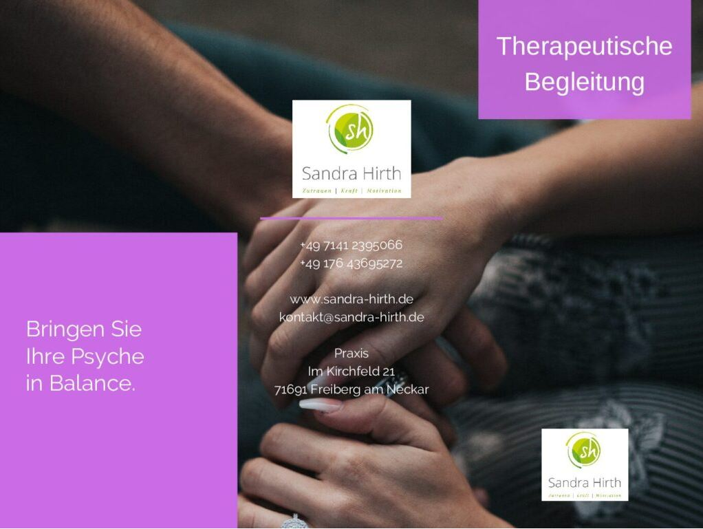 Flyer Therapeutische Begleitung