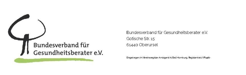 Mitglied im Verband der Gesundheitsberater Sandra-Hirth.de